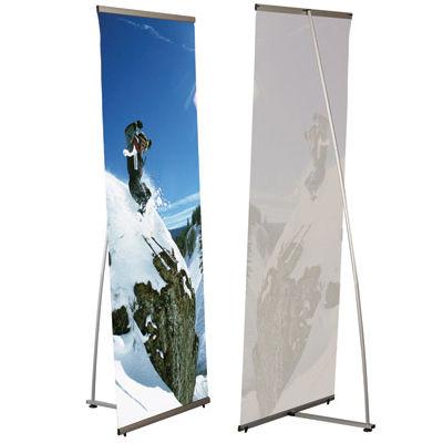 L баннер мобильный стенд