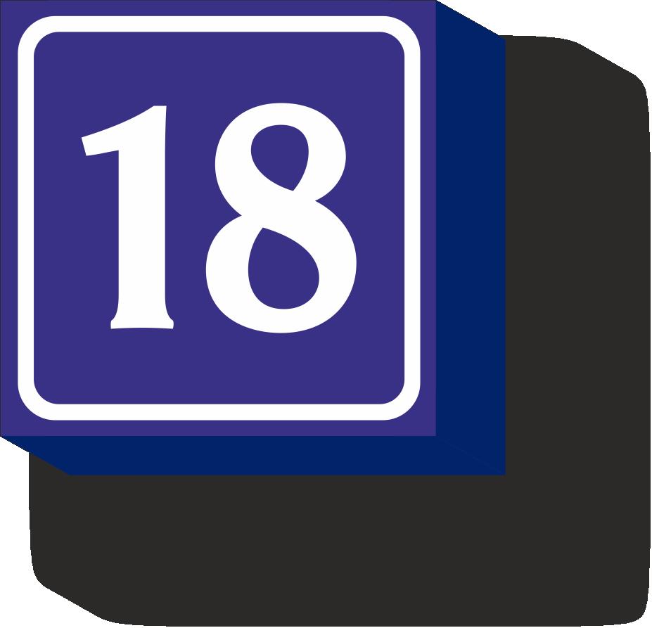 домовой знак 47,5