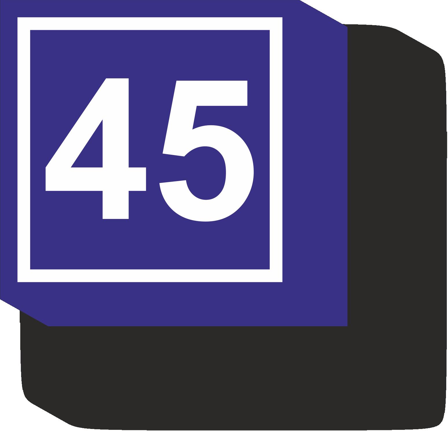 домовой знак 45х45